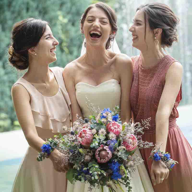 ≪祝福≫がたくさんあった結婚式